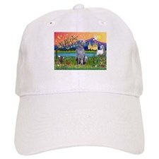 Deerhound in Fantasy Land Baseball Cap