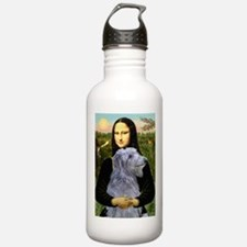 Mona & her Deerhound Water Bottle