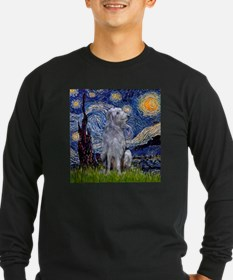 Starry Night Deerhound T