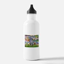 Lilies & Deerhound Water Bottle