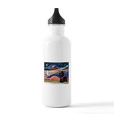 XmasStar/Scottie (#6) Water Bottle