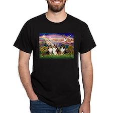 Autumn Angel - 3 Sheltlies T-Shirt