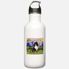 Mt. Country & Tri Shetland Sheepdog Water Bottle