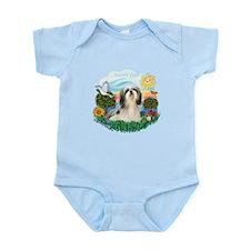 Happy Day Shih Tzu #3 Infant Bodysuit