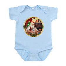 Santa's Shih Tzu (Paddy) Infant Bodysuit