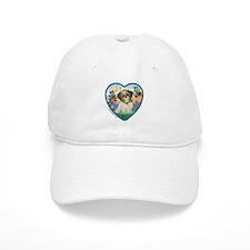 Shih Tzu in my heart (P) Baseball Cap