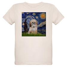 Starry Night & Shih Tzu T-Shirt