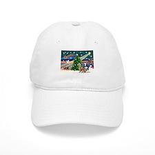 XmasMagic/2 Huskies Baseball Cap
