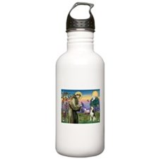 Saint Francis & Husky (red si Water Bottle