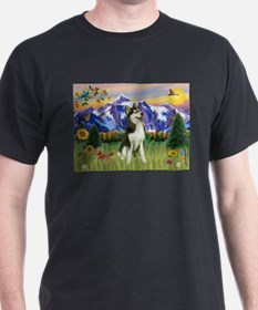 Mt Country & Husky T-Shirt