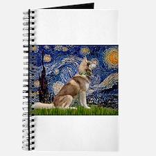 Starry Night & Husky Journal