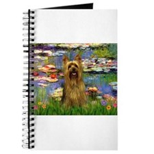 Lilies & Silky Terrier Journal