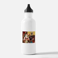 Santa's Sloughi Water Bottle