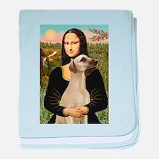 Mona Lisa's Sloughi baby blanket