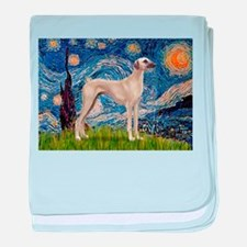 Starry Night Sloughi baby blanket