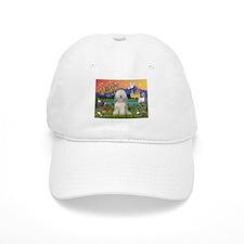 Tibetan Terrier Fantasyland Baseball Cap
