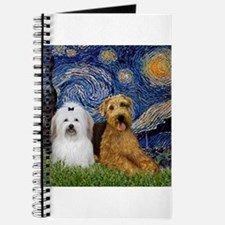Starry Night Airedale & Coton Journal