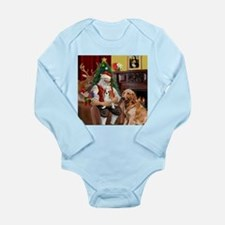 Golden Retriever & CKC Long Sleeve Infant Bodysuit