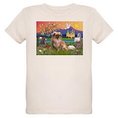 Tibetan Spaniel in Fantasy La T-Shirt