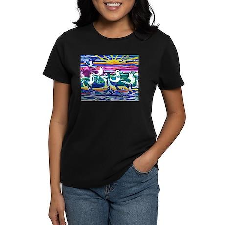 Seagulls Women's Dark T-Shirt