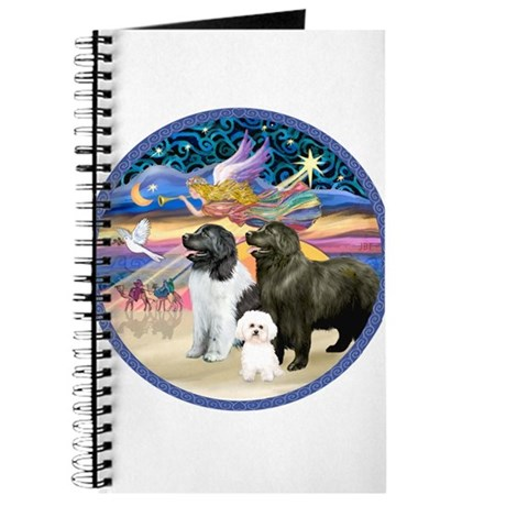 XmasStar-2 Newfies+Bichon Journal