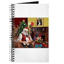 Santa & Toy Fox Terrier Journal
