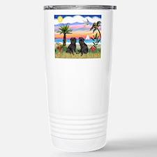 Cute Dogs brussels griffon Travel Mug
