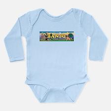 Cute Bowls names Long Sleeve Infant Bodysuit