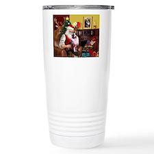 Santa's Aussie (Cindy's) Travel Mug