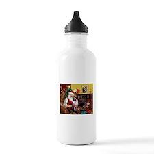 Santa's Aussie (Cindy's) Water Bottle