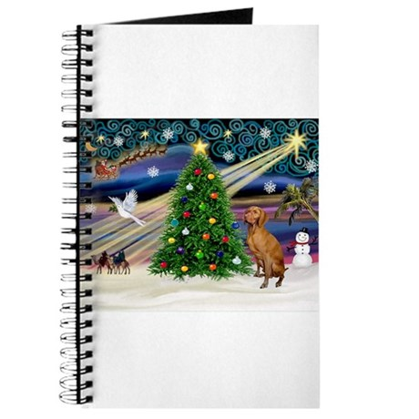 Xmas Magic & Vizsla Journal