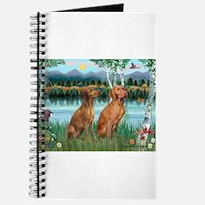 Birches / Vizsla pair Journal