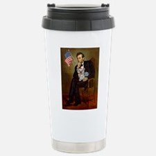 Lincoln & Yorkie Travel Mug