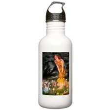 Fairies & Yorkie (T) Water Bottle