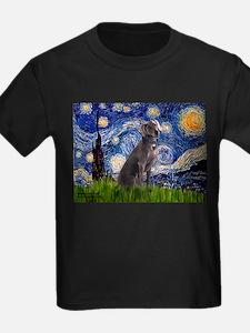 Starry Night Weimaraner T