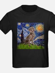 Starry Night & Weimaraner (Nv T