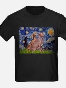 Starry Night Weimaraners T