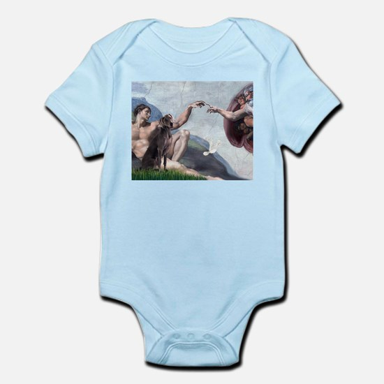 Weimaraner Creation Infant Bodysuit