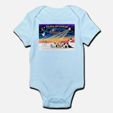XmasSunrise/6 Corgis Infant Bodysuit