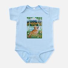 Birches / Corgi (P) Infant Bodysuit