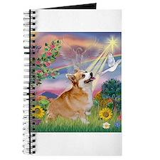 Cloud Angel Welsh Corgi Journal