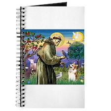 St Francis /Welsh Corgi (p) Journal