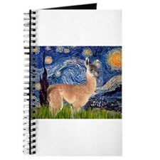 Starry Night Llama Journal