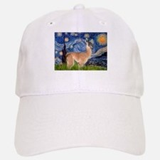 Starry Night Llama Baseball Baseball Cap