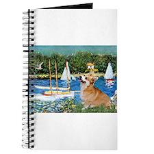 Monet's Sailboats Journal