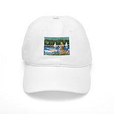 Monet's Sailboats Baseball Cap