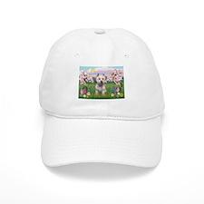 Blossoms & West Highland Baseball Cap