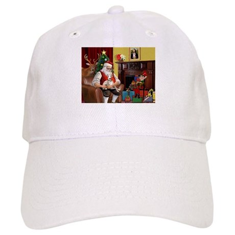 Santa's Whippet (#2) Cap