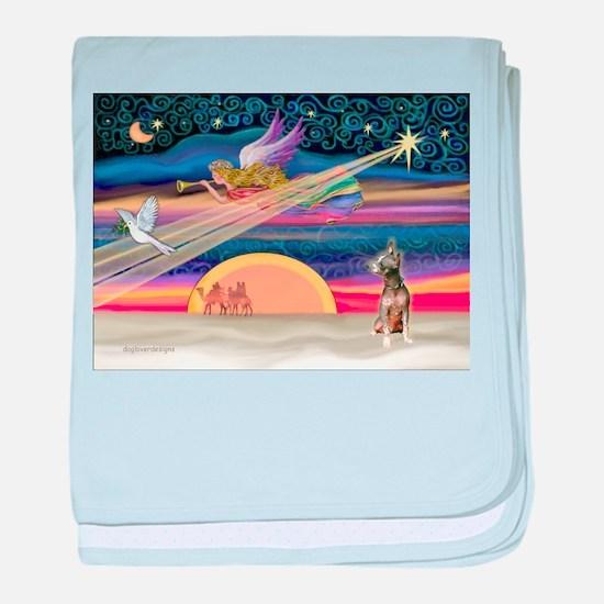 XmasStar / Xolo (#1) baby blanket