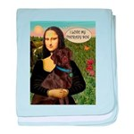 Mona's Therapy Dog (Lab-C) baby blanket